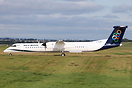 Flybe Dash 8-400 G-FLBD about to depart to Athens for lease to Olympic...
