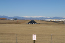View down Rwy 28 at Denver-Centennial - awesome mountains in the dista...