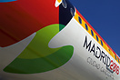 Promoting Madrid as a candidate for 2016 Olympic Games.