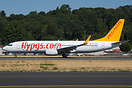 new Boeing 737-800 for Pegasus Airlines. Seen being delivered from Boi...