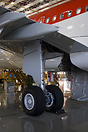 Brand new A320 for Avianca. In stage of cabin installation at Hamburg-...