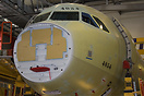 Brand new A321 for Lufthansa waiting for completion on the final assem...