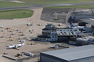 Overview of Birmingham Airport (Elmdon side - original 1930s terminal)...