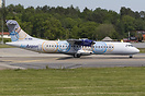 This Golden Air ATR-72 wearing for just a few weeks the full Aer Arann...