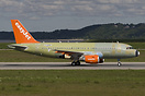 New Airbus A319 for Easyjet only part painted