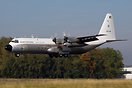 A Kuwait Air Force C-130 Hercules landing on Runway 21 at Maastricht A...