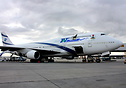 First Boeing 747-400 for TAT Nigeria in basic El AL colours.