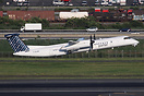 Porter Airlines Bombardier Dash 8 Q400 seen here departing Newark for ...