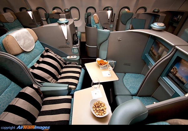 www airteamimages com airbus-a340 A6-EHL etihad-airways 94312 htmlEtihad Business Class A340
