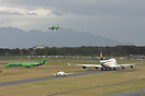 Rush hour @ CPT... ZS-OBL and D-ABVS are waiting for departure whilst ...