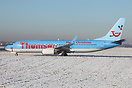 Special Thomson Airways Boeing 737 'Reindeer Powered' Christmas scheme...
