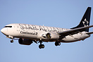 First Continental Boeing 737 to wear the Star Alliance Colours.