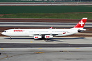 Swiss has started naming their A340 fleet recently, this one carries t...