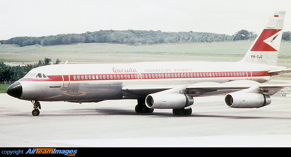 Convair 990A Coronado (PK-GJC) Aircraft Pictures & Photos ...