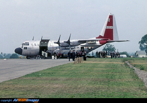 Lockheed C-130A Hercules (56-0545) Aircraft Pictures & Photos ...