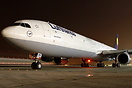 Lufthansa is once again operating the bigger A340-600 instead of the s...