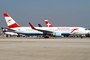 The Austrian 767's are back at TLV for the summer season.