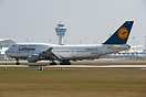 Today Lufthansa repositioned 10 Aircraft (5 B747 and 5 A346) from MUC ...